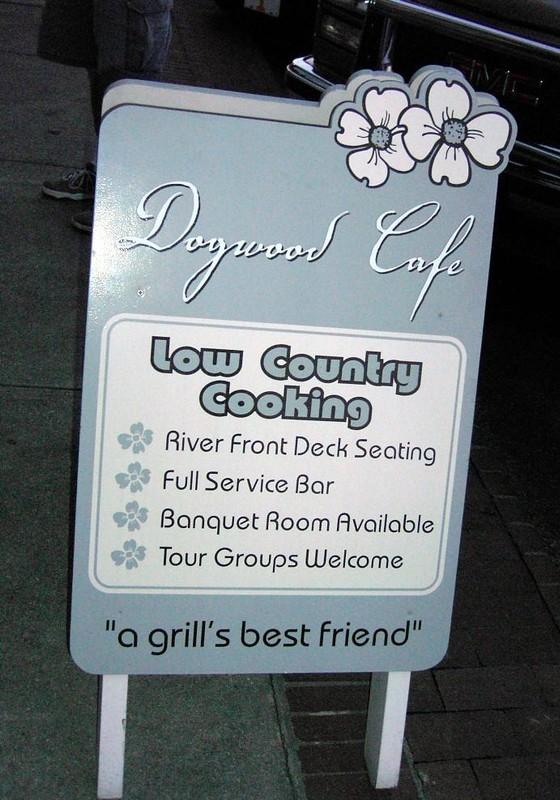 Dogwood Cafe sign