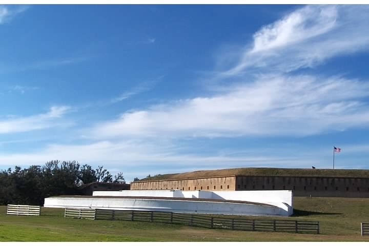 Water battery at Fort Barrancas