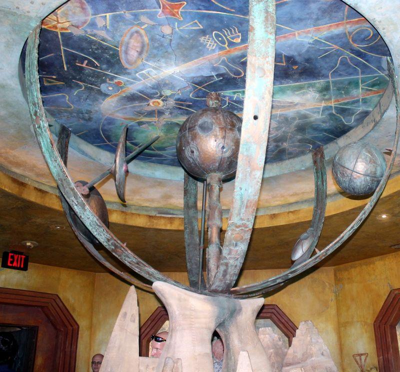 Astro navigation globe