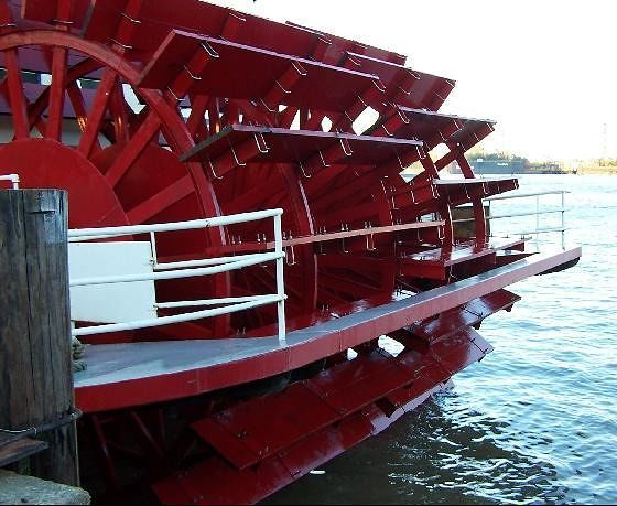 Paddlewheel of the Creole Queen