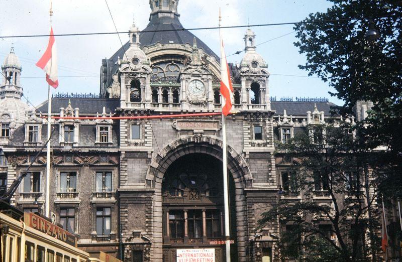 Antwerp RR station 1950