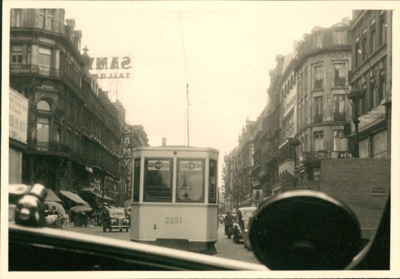 Photo from a taxi in 1950