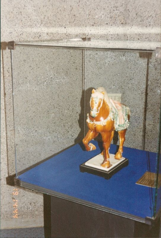 Ceramic Horse in the Jade Museum