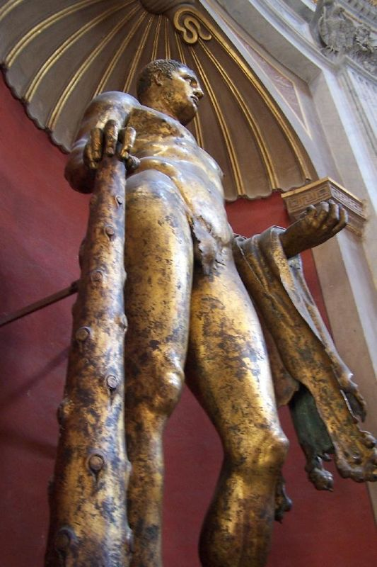 Statue of Hercules in the Vatican