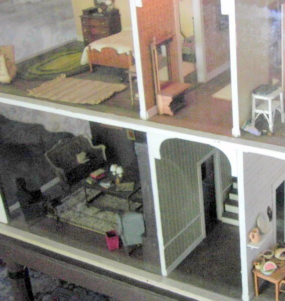 Dollhouse in the Oldest House