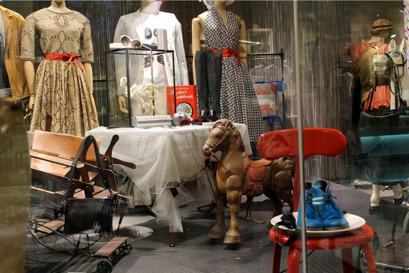 One of the shop windows
