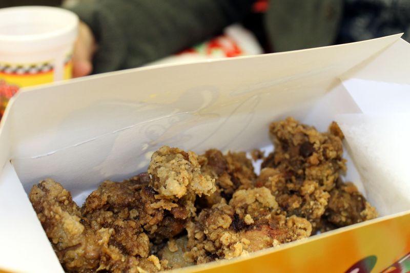 Medium box of chicken livers