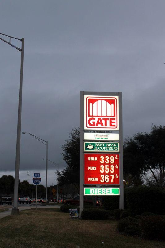 Where we got gas