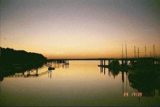 Sunset over the marina - Datha Island