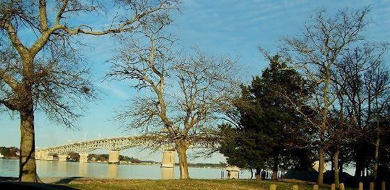 York River Bridge from south bank