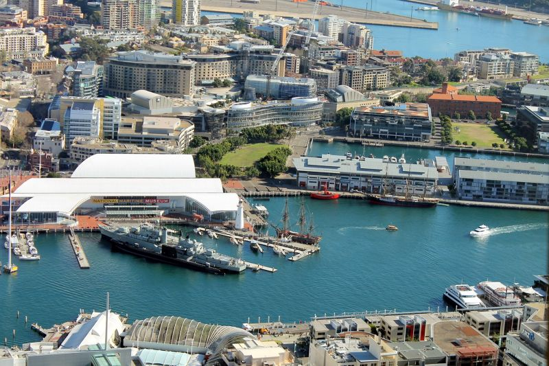 Darling Harbour from AMP tower
