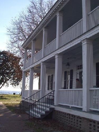 Back of Barker House