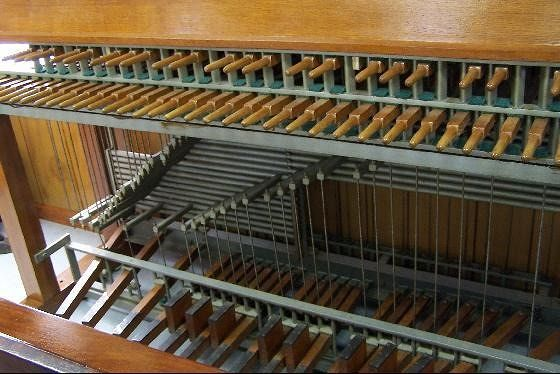 Carillon Organ in the Visitor's Center