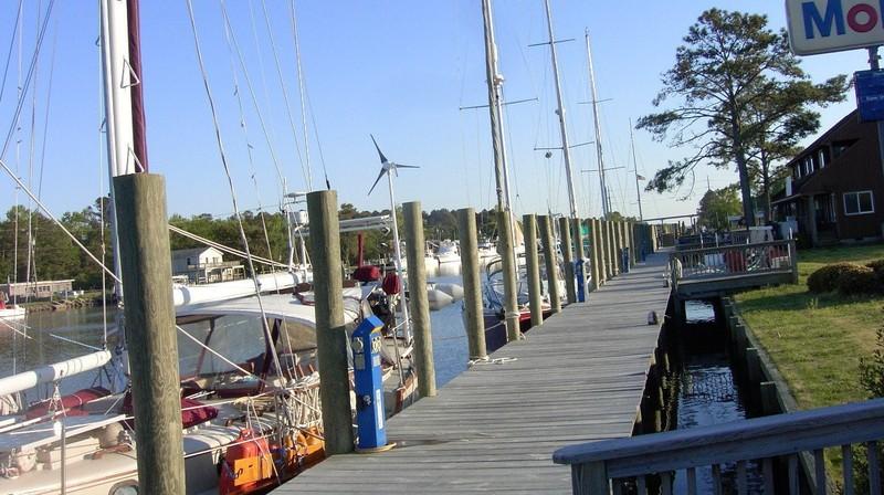Midway Marina dock