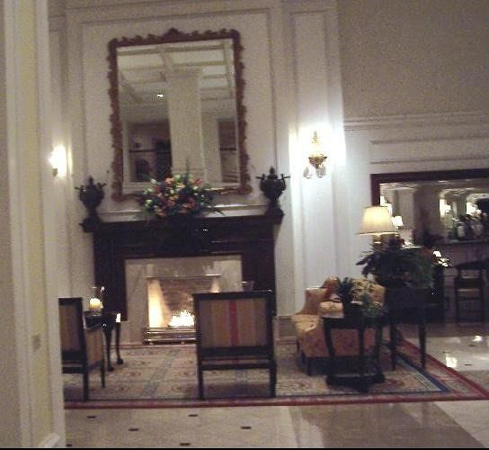 Fireplace in the Fairmont Hamilton Princess