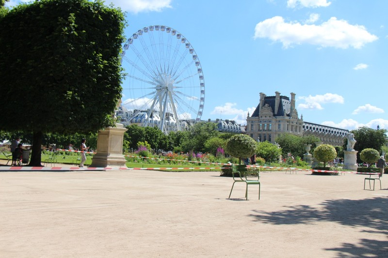 Tuileries Garden ferris wheel