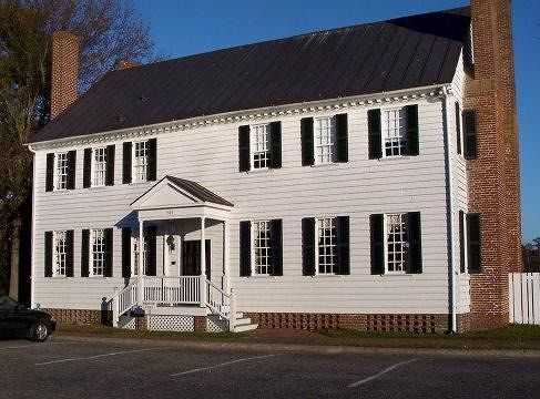 Front of Barker House c 1782