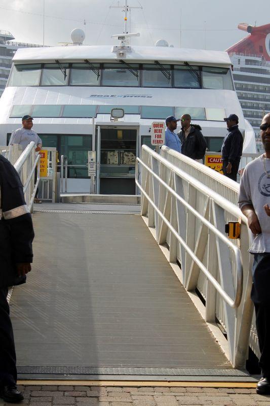 Ferry gangway 2011