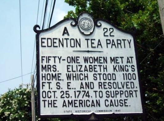 Tea Party Historic_marker