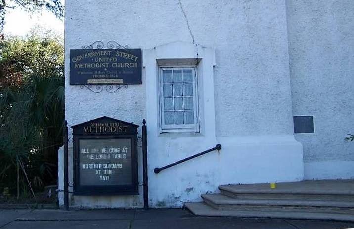 Methodist Church sign
