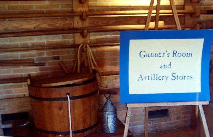 Gunner's room