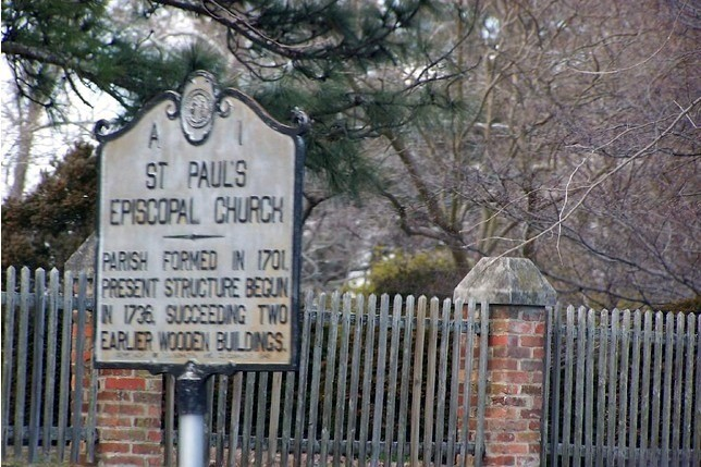 St Paul's Episcopal Church Sign