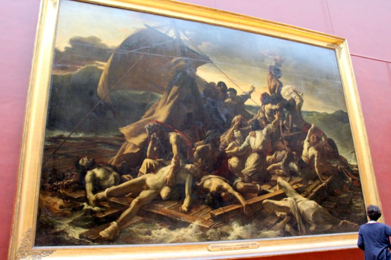 The Raft of the Medusa  by Theodore Gericault