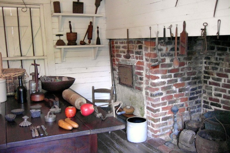 Kitchen of the oldest house