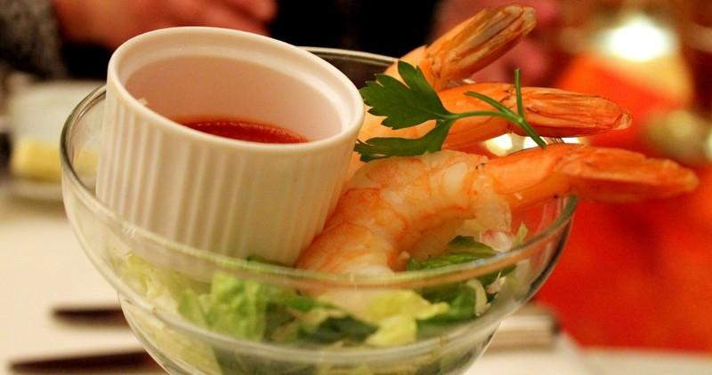 Regular shrimp cocktail