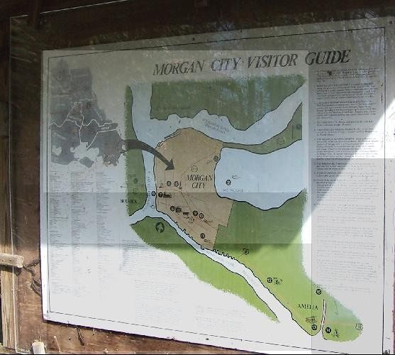 Brownell Park map of area attractions