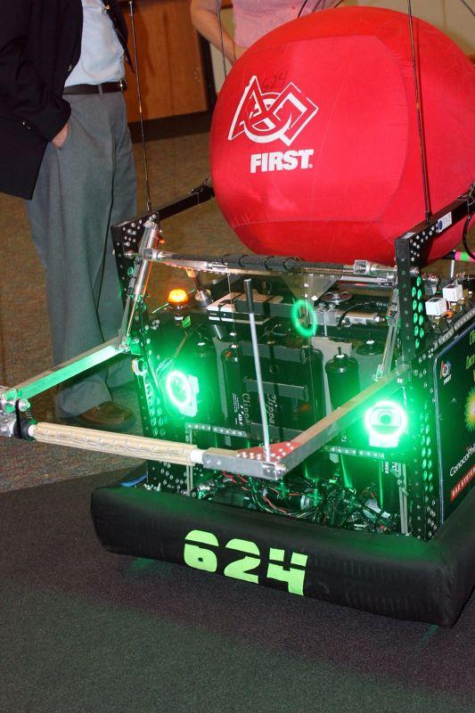Kryptonite Aerial Assist robot