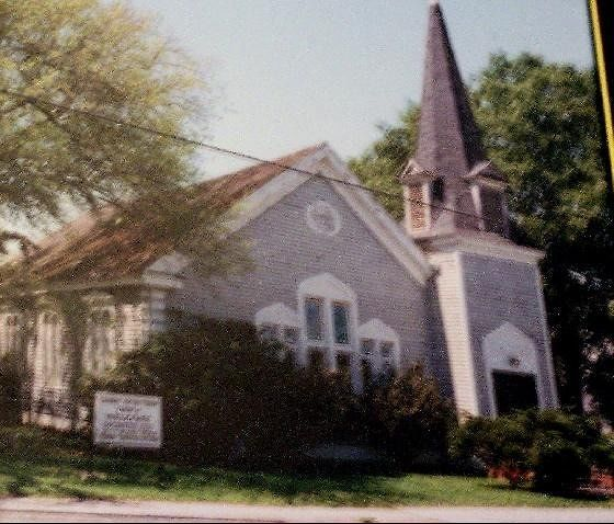 Photo of the Presbyterian Church at the museum