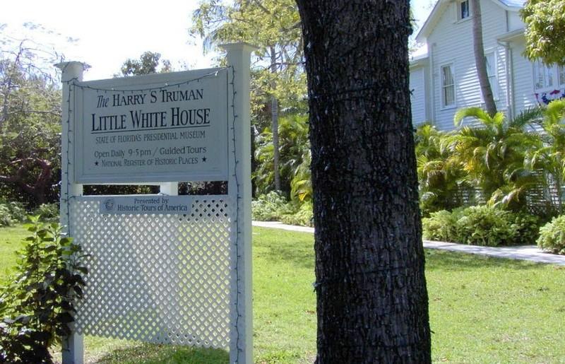 Truman White House sign