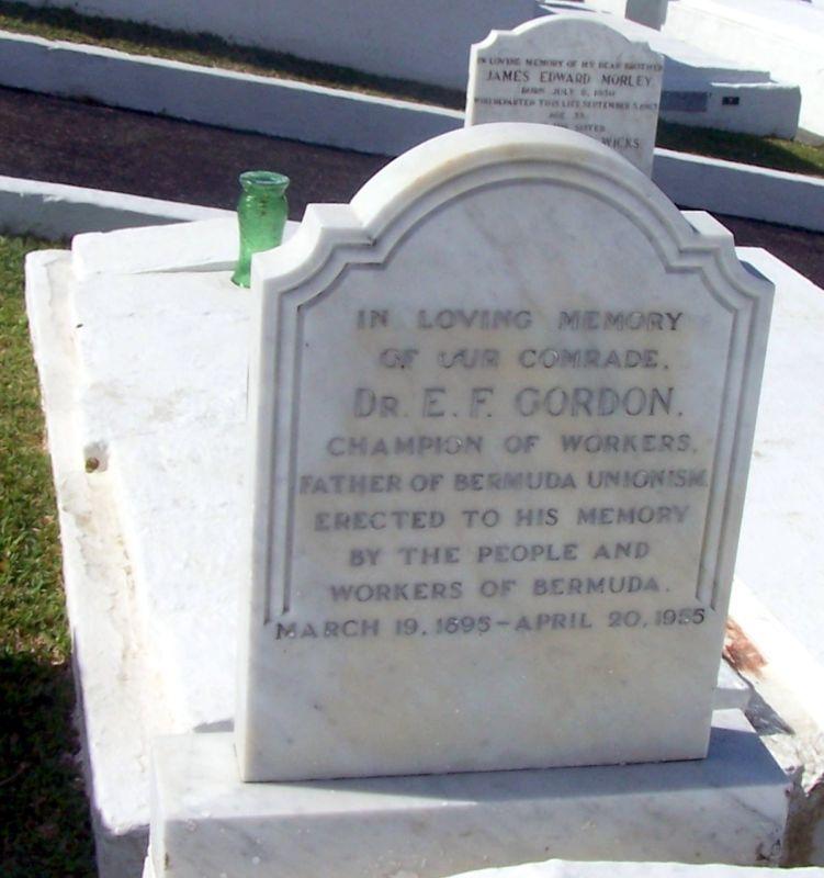 Dr Gordon's grave