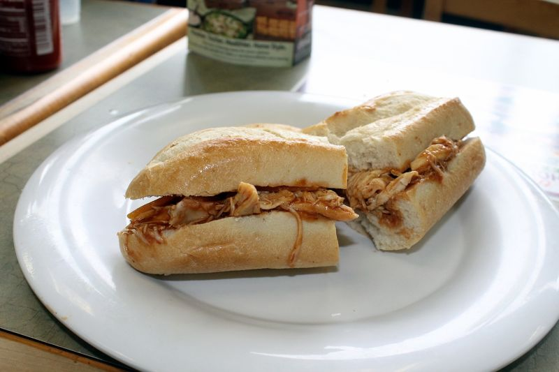 My pulled port sandwich