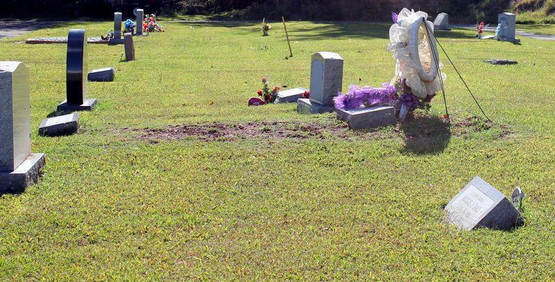 Cemetery at Friendship Baptist
