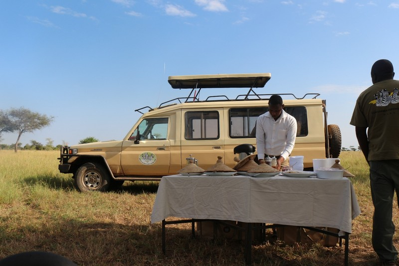 Land Cruiser and cooks