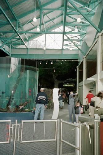 Main hall tank