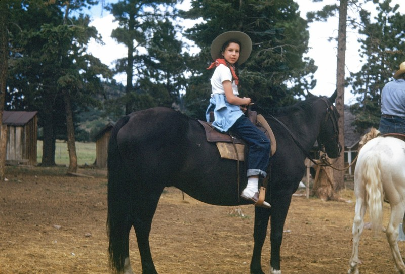 Me on the trail ride