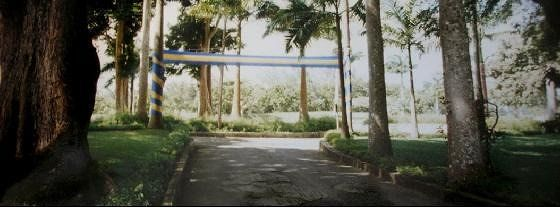 Farley Hill decorated for Bajan Independance Day - Barbados