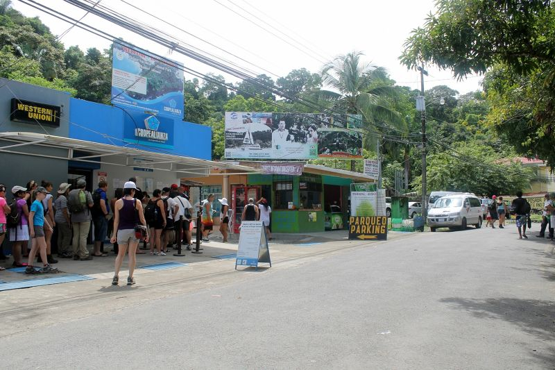 Last parking, buying tickets and Tourist Information