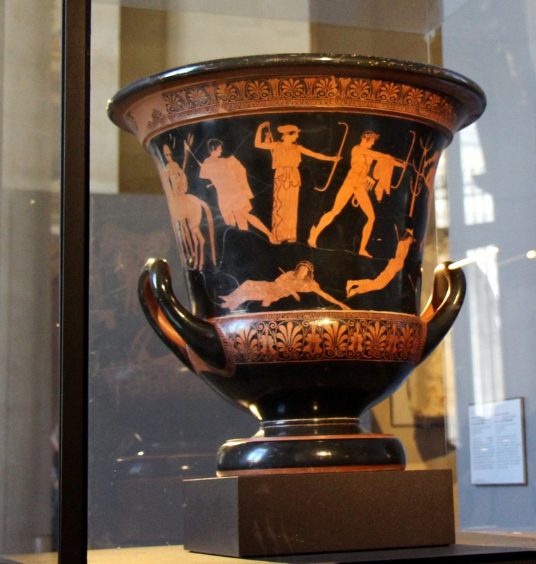 """Attic Red-Figure Calyx Krater known as the """"Niobid Krater"""""""