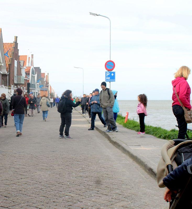 Waterfront of Volendam