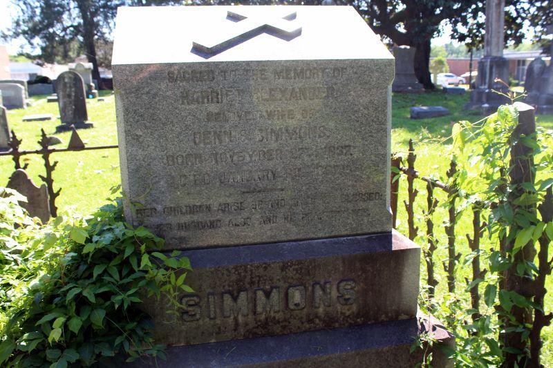Harriet Alexander Beasley Littlejohn Simmons (1837-1897)- one of J.B. Beasley's daughters