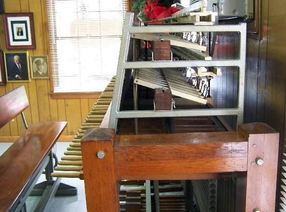 Brownell Park carillon keyboards