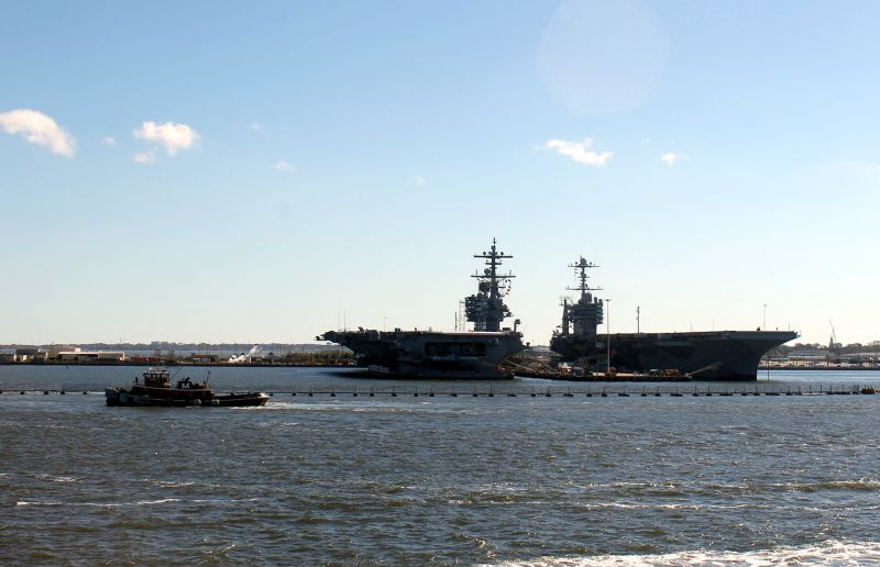 Aircraft carriers - Norfolk