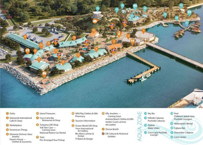Port map - Amber Cove