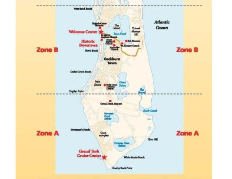 Taxi zone map