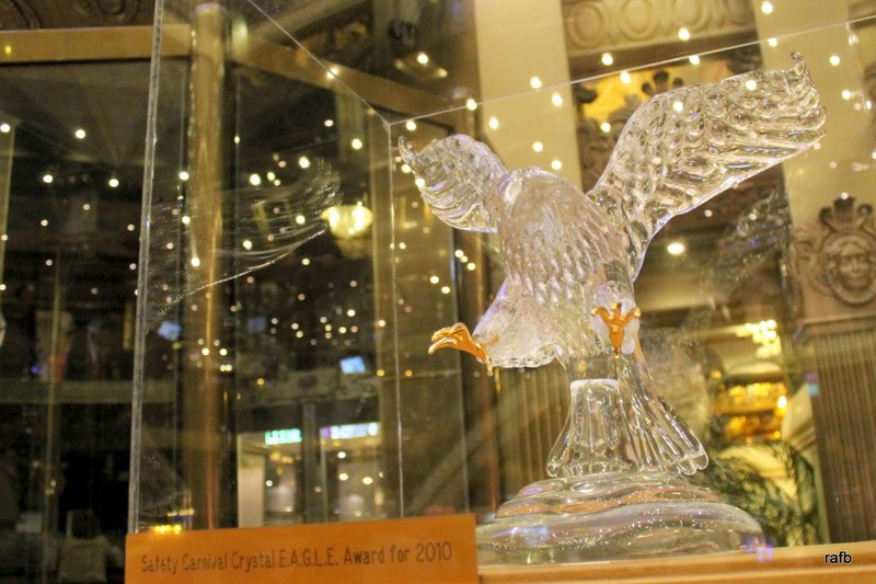 Carnival Crystal Eagle