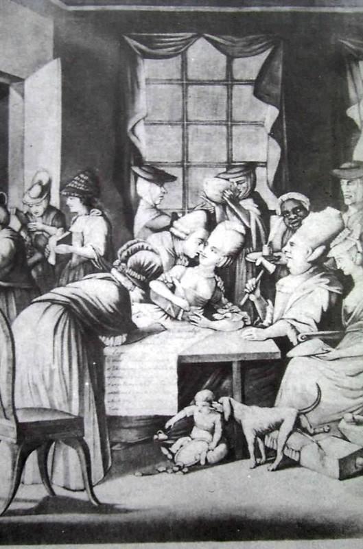 Edenton Tea Party Cartoon